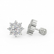 Diamond Earrings TDE28