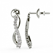 Diamond Earrings TDE19
